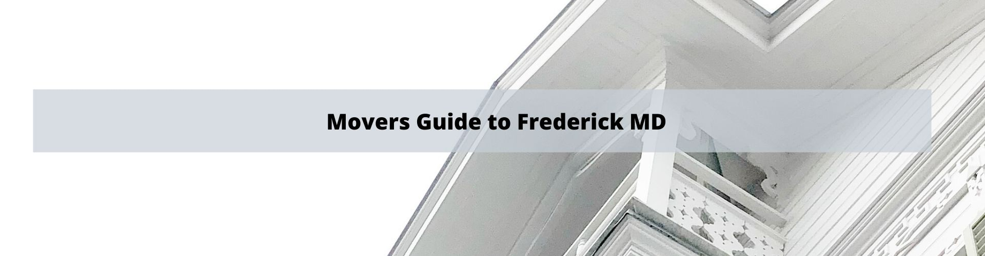 Mover's Guide to Frederick MD